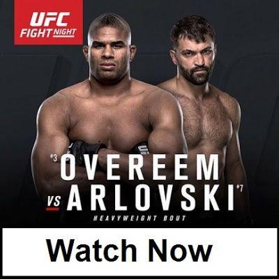 Sports Live Stream: UFC Fight Night 87: Overeem vs. Arlovski Live Stre...