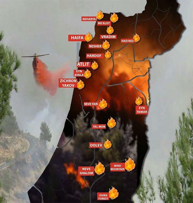 "Israel on fire - arson attacks. Do not be afraid, Jacob my servant,     for I am with you,"" declares the Lord. ""Though I completely destroy all the nations     among which I scatter you,     I will not completely destroy you."