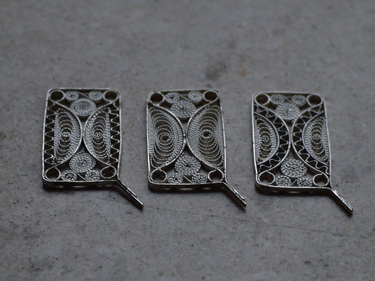 Segments of some new bracelet designs
