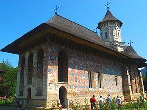 Moldovita monastery Romania
