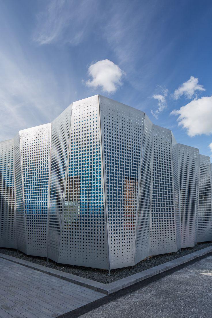 Farbe Im Gewerbepark   Bürogebäude In Lund Erweitert