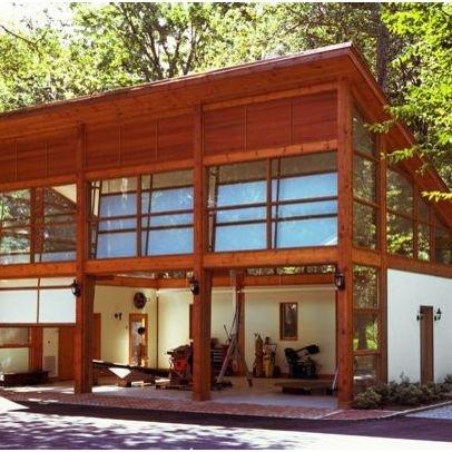 Garage studios add a floor above garage studio for Garage con studio