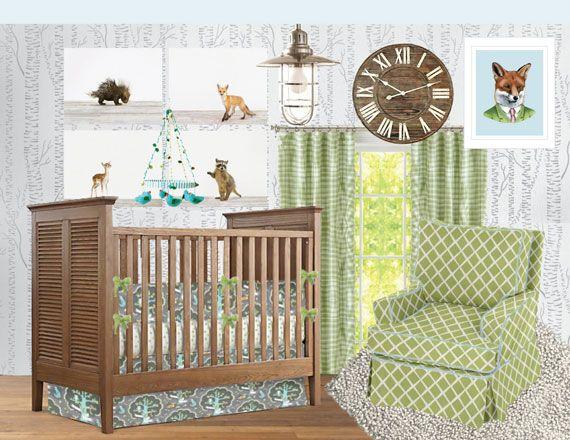 80 Best Images About Nursery Design Woodland On Pinterest