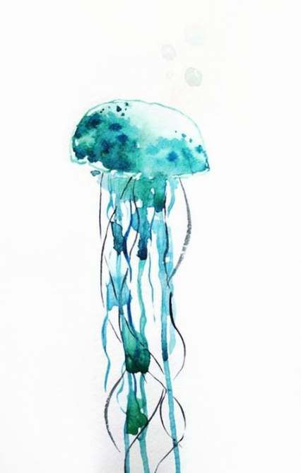 Super tattoo watercolor ocean wall decor ideas