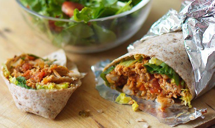 burritos - tortilla wraps, 500g turkey mince, 400g tin ...