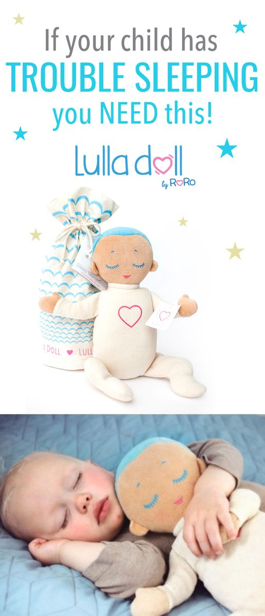 The Lulla Doll Sleep Companion is back in stock at Kiddicare. This amazing doll is a fantastic way to help your baby sleep.