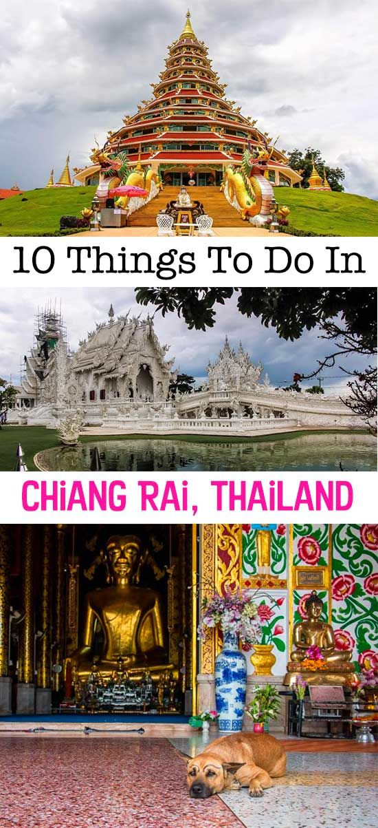 An itinerary for Chiang Rai, Thailand!  Chiang Rai itinerary | North Thailand things to do | Chiang Rai attractions |  Things to do in Chiang Rai