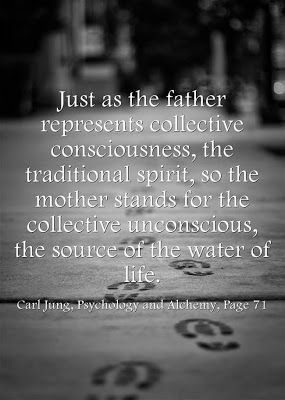 Just as the father represents collective consciousness, the traditional spirit, so the mother stands for the collective unconscious, the sou...