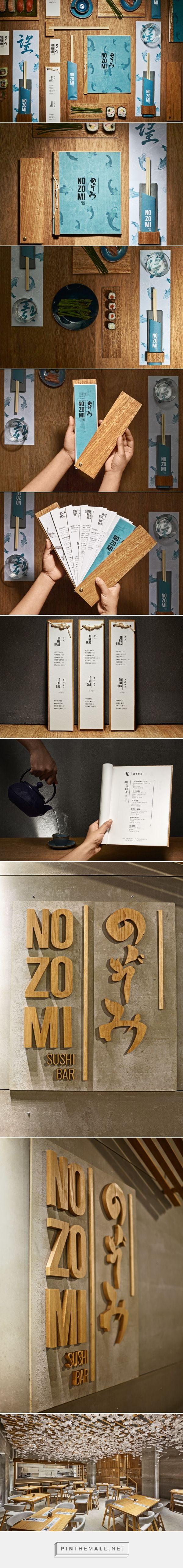 Nozomi Sushi Bar | Masquespacio - created via http://pinthemall.net