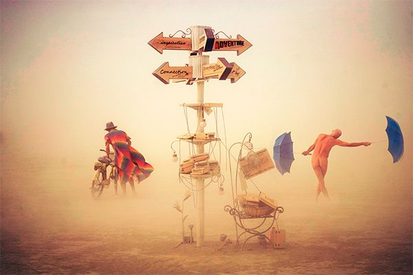 Victor Habchy: The soul on fire (Burning Man Series)