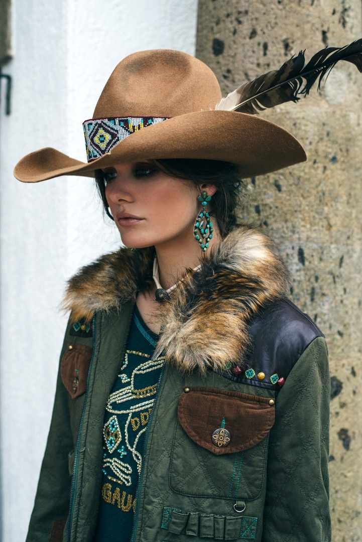 Double D Ranch Bodega Argenta Jacket - olive, hunting, faux fur, cowgirl , western http://www.cowgirlkim.com/double-d-ranch-fall-2016-bodea-argenta-jacket.html