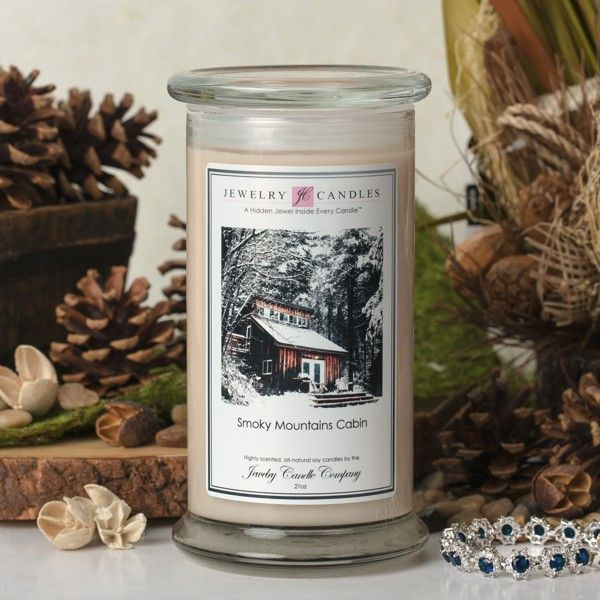 Smoky Mountains Cabin Jewelry Candle