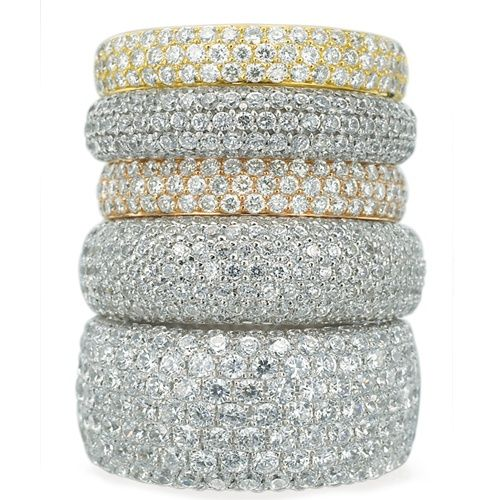 Armadani Pave Diamond Rings #tiffany tiffany engagement rings for sale