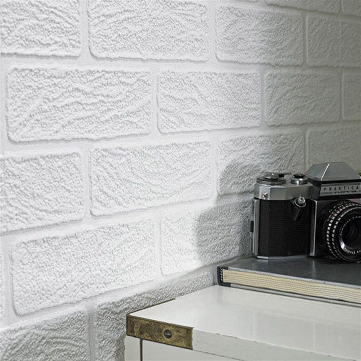 Bedroom Sets For Girls White Brick Wallpaper Bedroom Rectangular Bedroom Design Ideas Kids Bedroom Cupboard Designs: 1000+ Ideas About White Brick Wallpaper On Pinterest