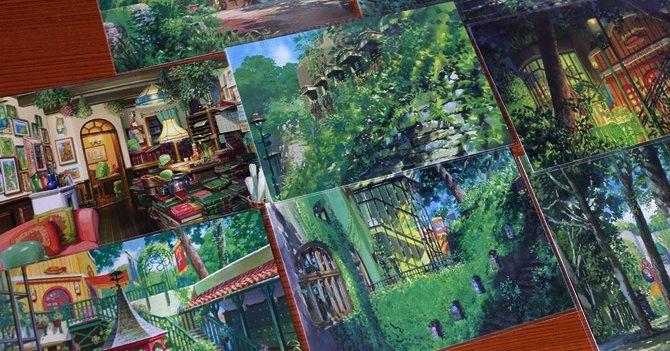 Le cartoline dello Studio Ghibli, dipinte da Noboru Yoshida http://www.fumettologica.it/galleria/cartoline-studio-ghibli/