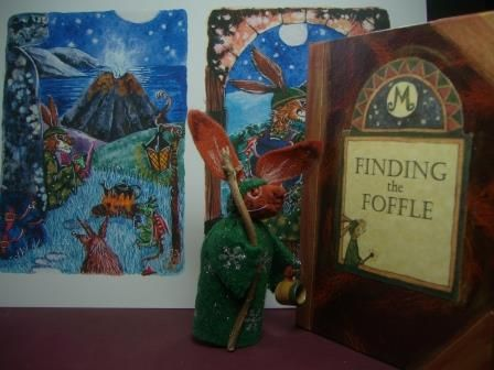 My very first Handmade Hardback book 'Finding the Foffle' - see more books at www.matlockthehare.com