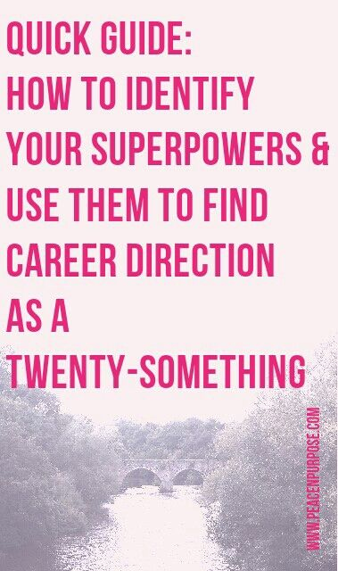 Learn what superpowers are, how to find out yours and why they're essential to finding a job you love.