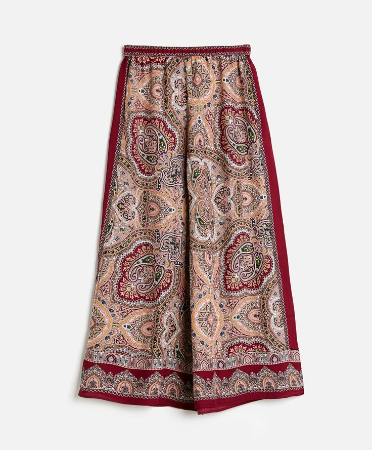 Long Scarf Trousers