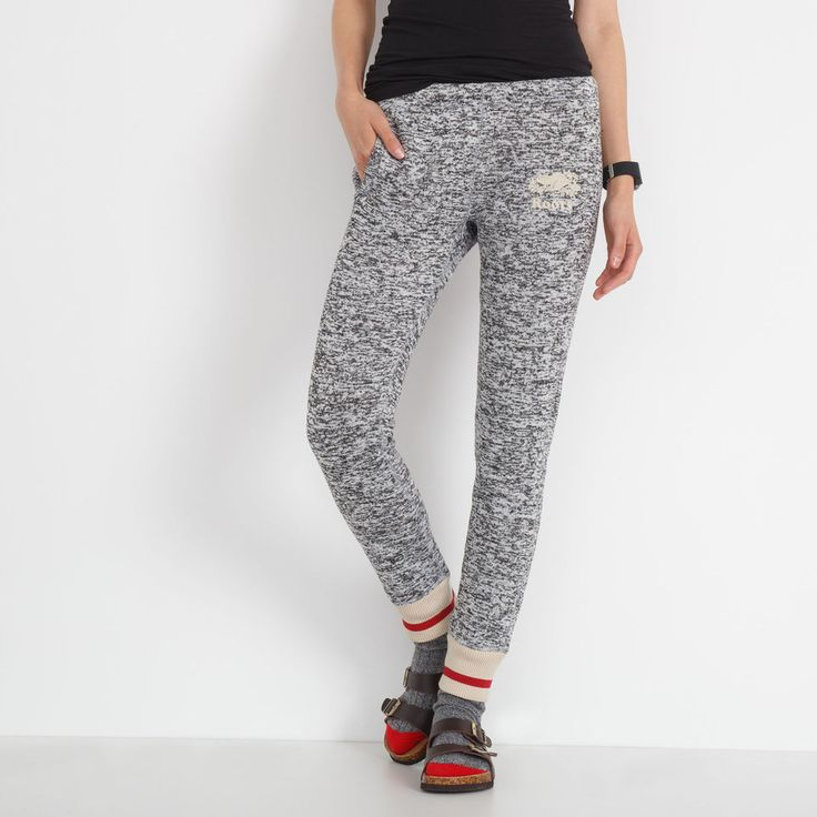 Womens Angie Roots Cabin Sweatpant blizzard colour mix | Roots $68