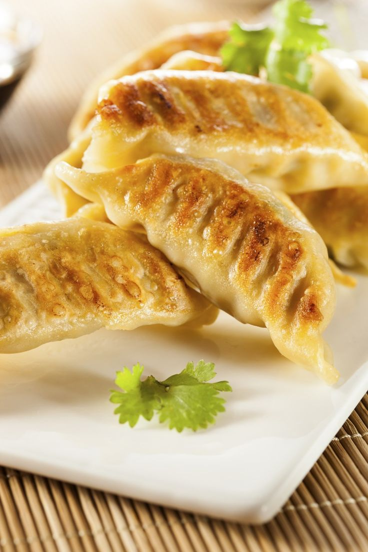 Recipe: Scallop and Corn Gyoza | japanese food | Pinterest | Scallops ...