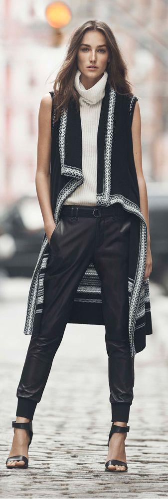 Vince Textured Vest • Street CHIC • ❤️ Babz ✿ιиѕριяαтισи❀ #abbigliamento
