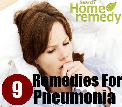 9 Home Remedies For Pneumonia - Natural Treatments & Cure For Pneumonia | Search Home Remedy