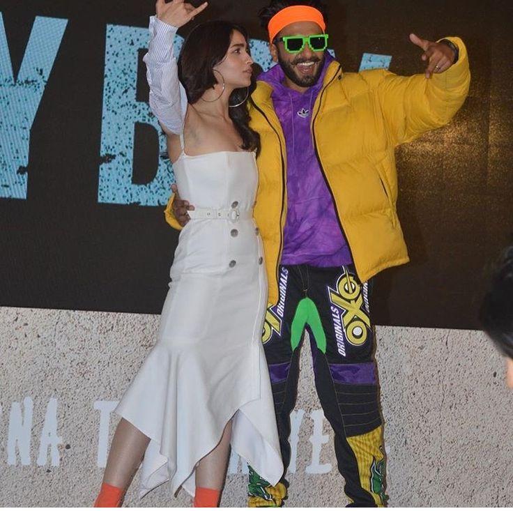 Ranveer Singh And Alia Bhatt Rock At Gully Boy Trailer ...