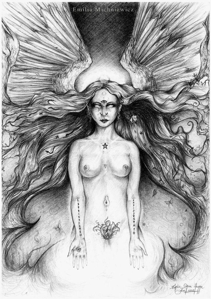 Priestess www.facebook.com/EMsilverART?