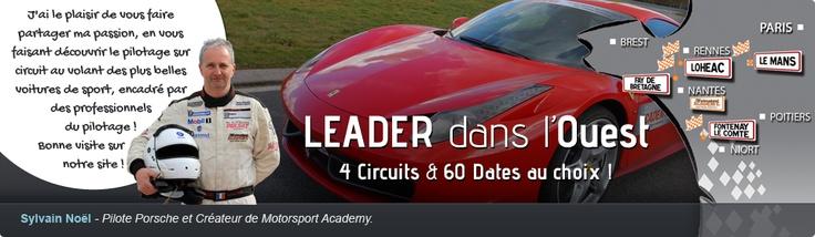 Stage de pilotage et conduite sur circuit avec http://www.motorsport-academy.fr