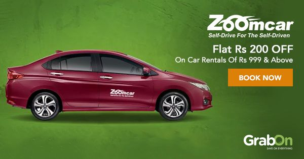 Now rent a car and drive without any worry.  #ZoomCar #travel #indian #vacationrental #carshare #FridayFeeling #voucher