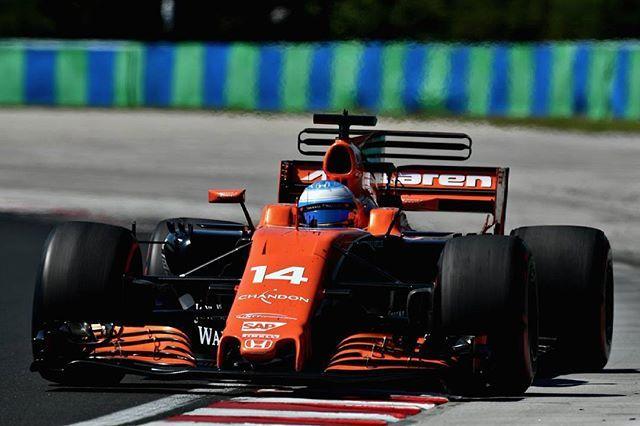 Fastest man on track but not enough to get more than P6...💨💥 #FernandoAlonso - #McLarenHonda / #Hungary 2017 #Alonso #FA14 #FastestLap #McLaren #Honda #ElNano #VamosFernando #AvantiFer #PowerOfRuins #Hungaroring #2017 #F1 #Formula1 #Aboutmotorsport #GP #Race #GrandPrix #Legend #History #Car #Fast #Speed #Idol #Sport