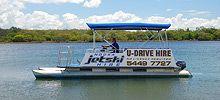 Noosa Boat Hire - Noosa Jet Ski Hire - U Drive Boat Hire on the beautiful Noosa river, Sunshine Coast