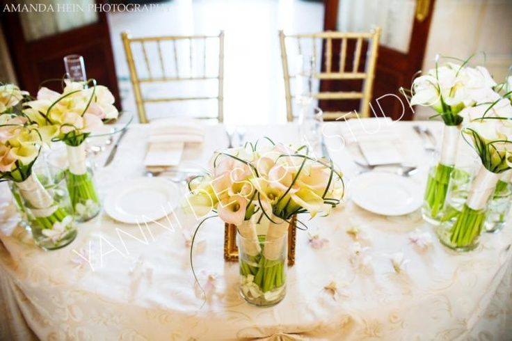 Sweetheart table - Like all but most likely with different colored flowers