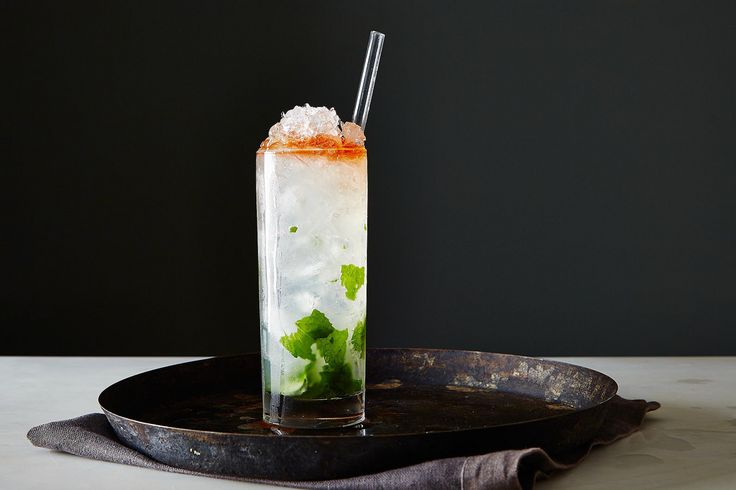How to Make a Queens Park Swizzle on Food52.