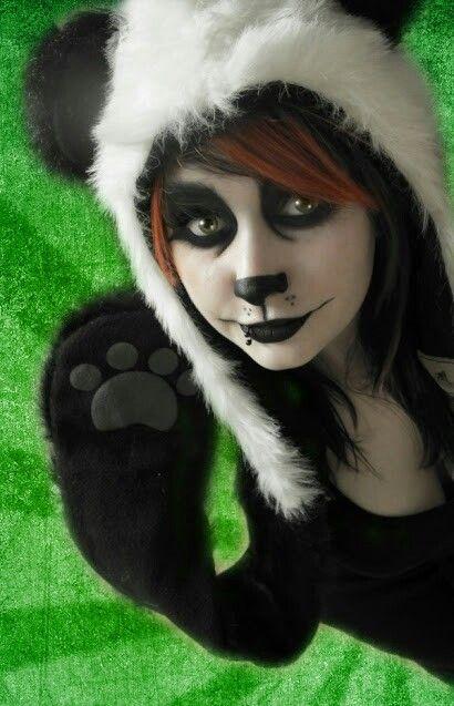 panda makeup                                                                                                                                                                                 More