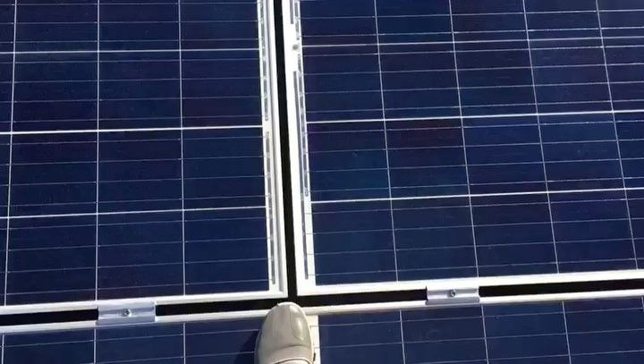 You can walk on roof mounted solar panels! They are highly durable typhoon proof and self-cleaning whenever its raining - An amazing technology everyone can trust and should have!  . . . #philergy #solarpanels #solar #solarpower #cleanenergy #renewableenergy #madeingermany #philippines #igersphilippines #igers #luxuryhomes #architecture