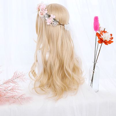 Blonde Curly Wig SD00977