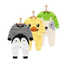 Orangemom 2017 pasgeboren meisje jongen slijtage pure cotton baby kleding, mode baby boy kleding kids rompertjes 100% katoen lichaam(China)