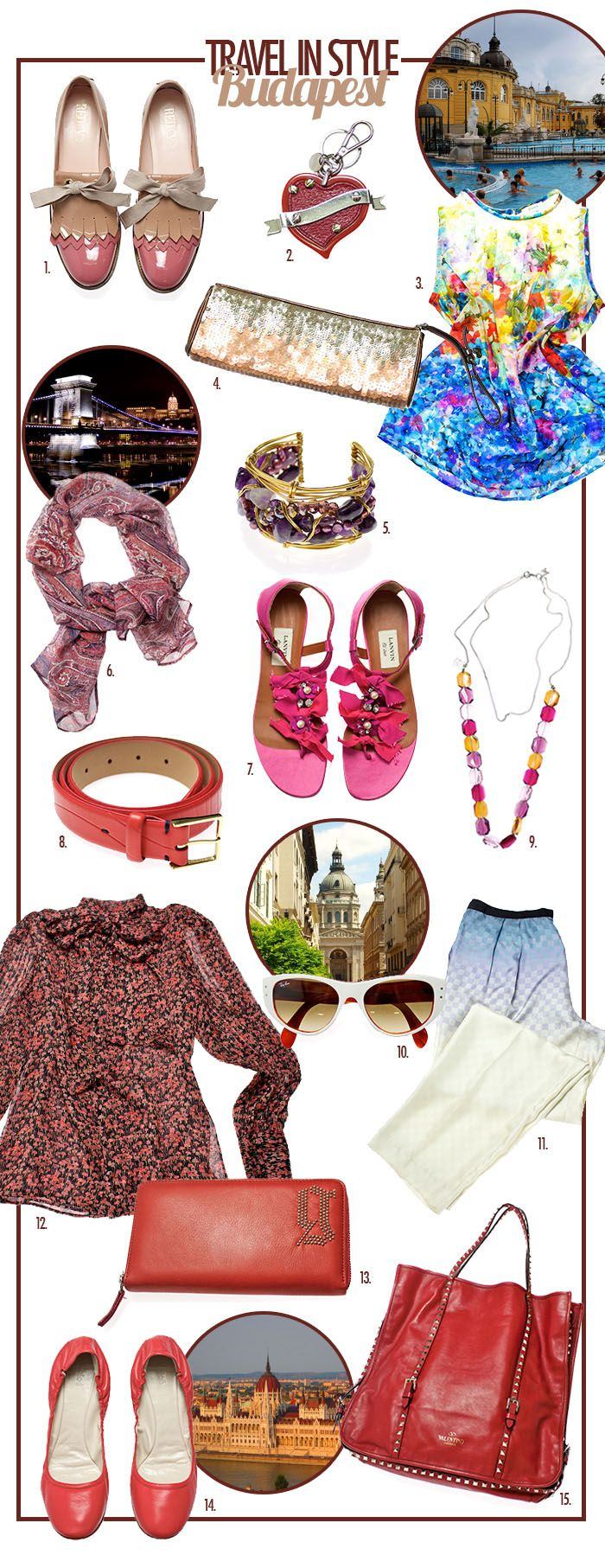 Travel in Style - Budapest: With Valentino Slipper, Lanvin Sandals and Dries van Noten Pants...