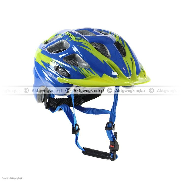 Kask Alpina Rocky Blue-Green
