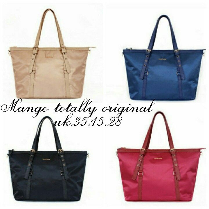 Tas Mango Totally Ori Parasut 6954 35x15x28 200rb