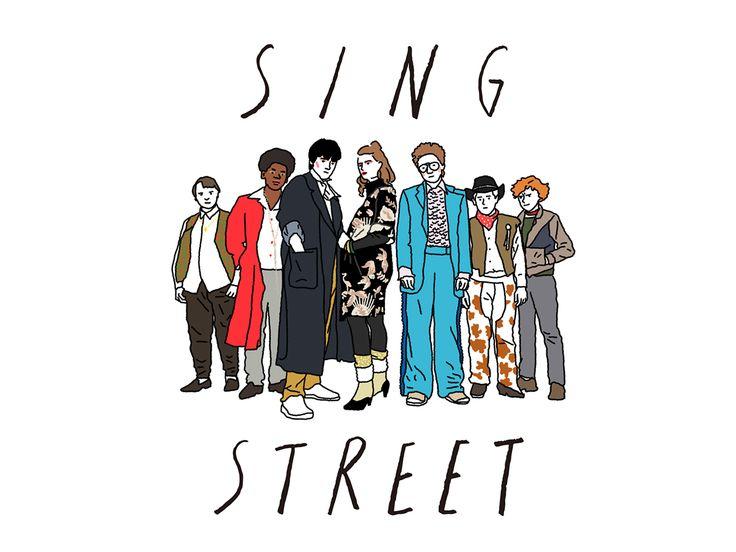 sing street on Behance