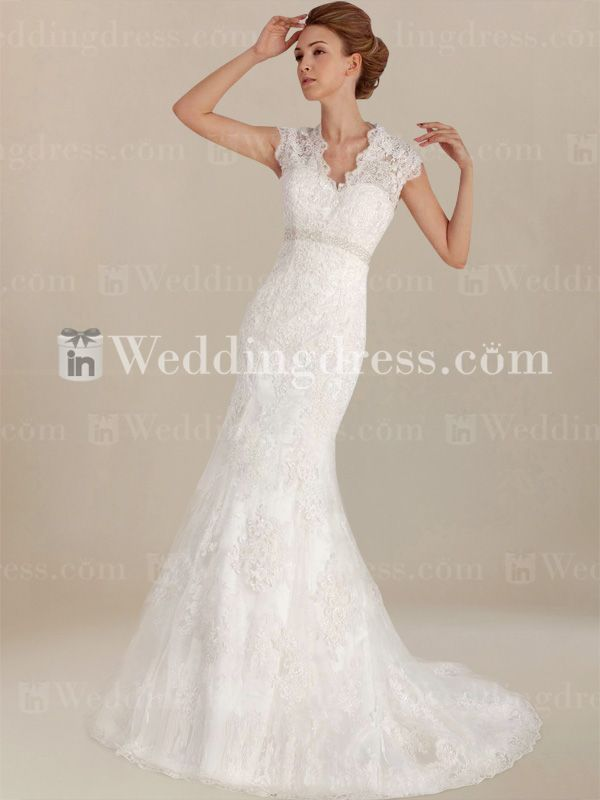 Informal Lace Wedding Dress BC628