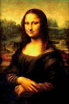 Мона Лиза (Джаконда) - Схемы вышивки - Sunir - Авторы - Портал «Вышивка крестом»