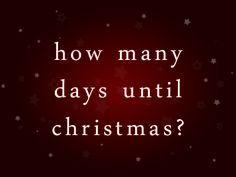 Christmas Countdown 2014!