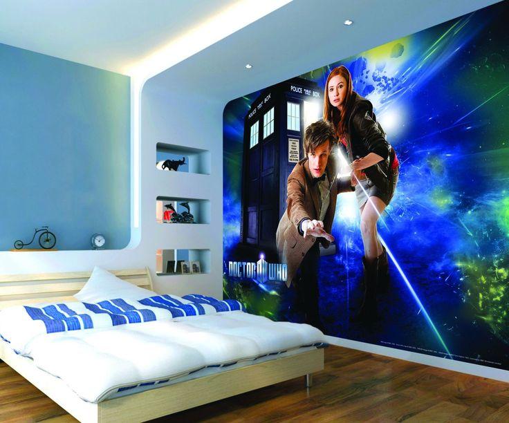 Doctor Who Bedroom | Dr Who Bedroom Wallpaper Psoriasisguru Com
