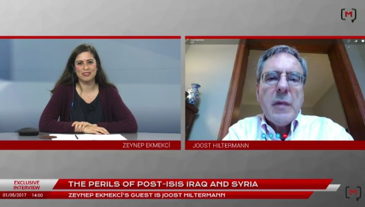 Medyascope ///  Exclusive interview with Joost Hiltermann: The perils of post-ISIS Iraq and Syria