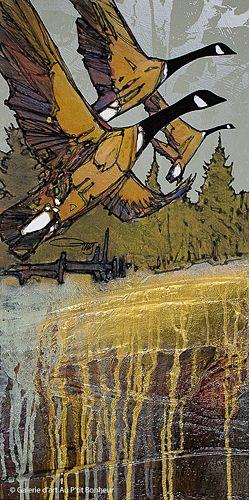 Jean-Pierre Guay, 'Deschaillons', 12'' x 24'' | Galerie d'art - Au P'tit Bonheur - Art Gallery