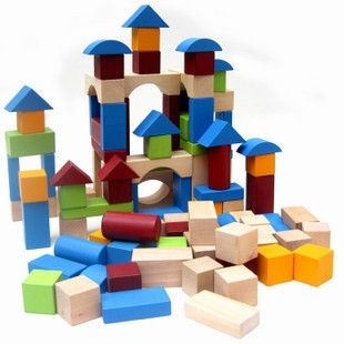 64.00$  Buy now - http://ali4vt.worldwells.pw/go.php?t=1197052845 - Building blocks 100 pcs, children wooden toys/elc toys/toys for kids/child/children /UK toys,free shipping