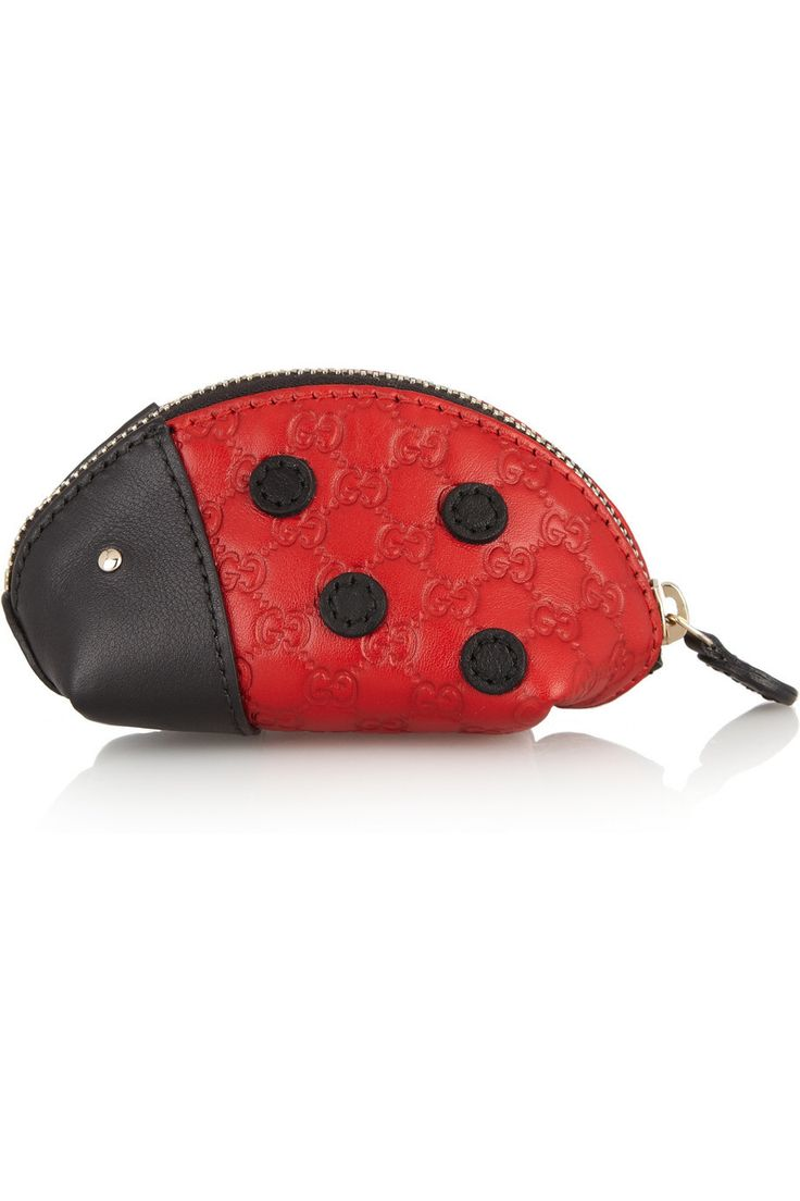 Gucci | Lady Bug leather coin purse | NET-A-PORTER.COM